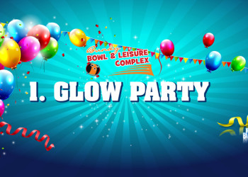 1. Glow Bowling Party