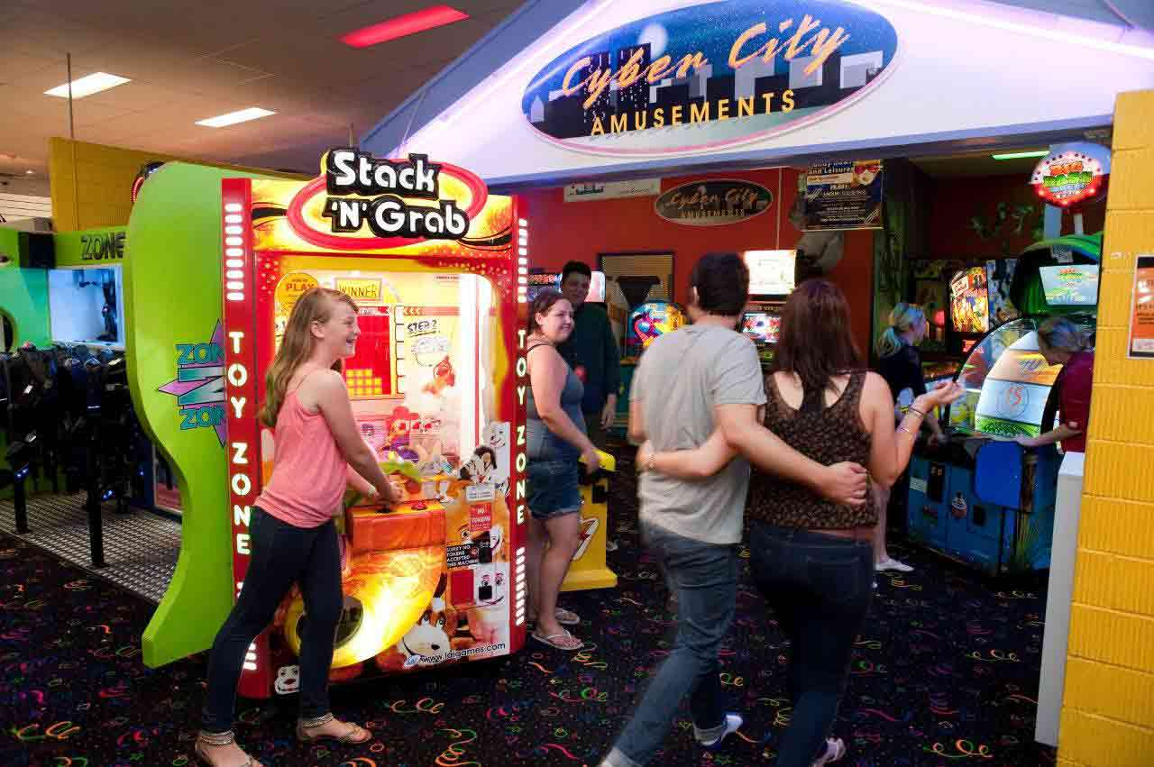 Win lots of prizes in our Games arcade