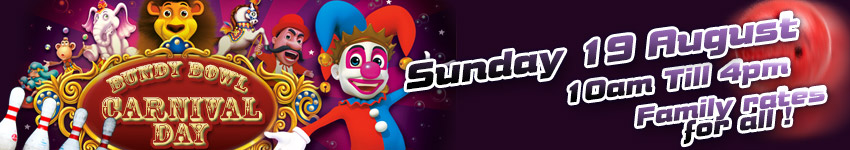 Family Carnival Showday Sun 19th August 10am 4pm