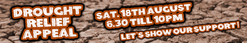 Drought Relief Appeal Sat 18th August